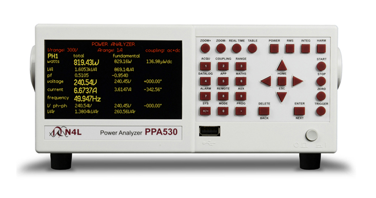 N4L PPA500 series power analyzer