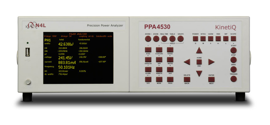 N4L PPA4500 series power analyzer