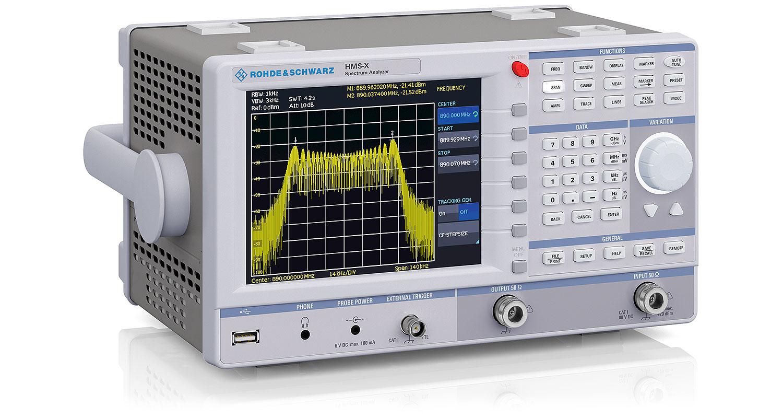R&S HMS-X series spectrum analyzer