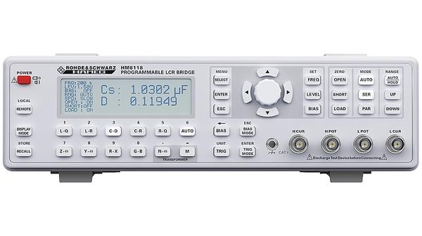 Rohde&Schwarz LCR meter HM8118
