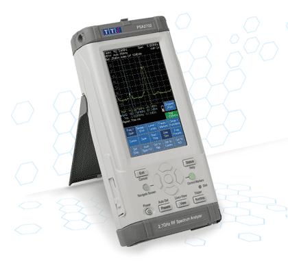 TTi PSA II series spectrum analyzer