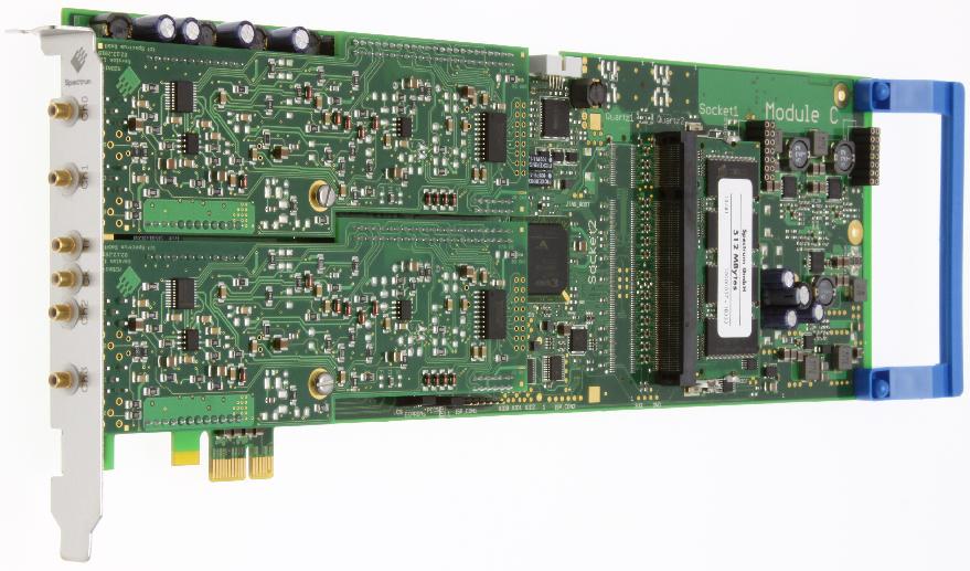Spectrum M2i.60xx Series arbitrary waveform generators