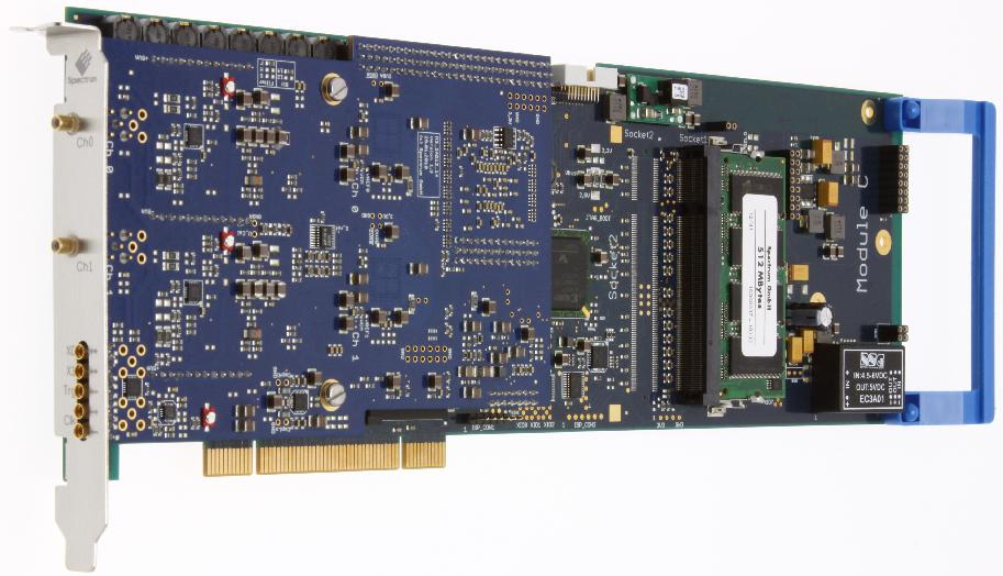 Spectrum M3i.21xx Series digitizer cards
