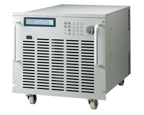 Chroma 61700 Series three-phase AC power supplies
