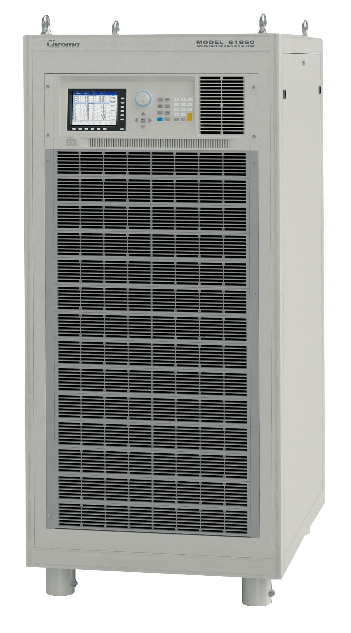 Chroma 61800 Series three-phase AC power supplies