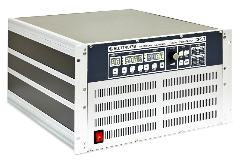 Elettrotest CPS series three-phase AC power supplies