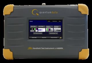 De 780 portable video test tool of Quantum Data