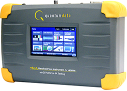 Quantum Data 780AH portable video generator / video analyser
