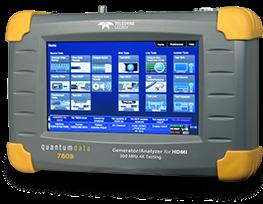 Quantum Data 780BH portable video generator / video analyser