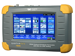 Quantum Data 780D video analyser en video generator