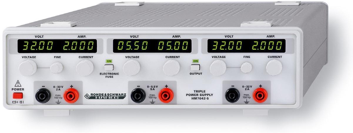 R&S HM7042 DC power supply