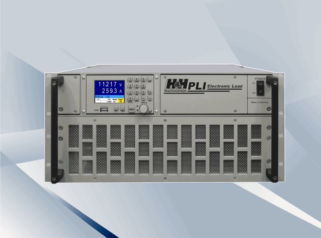H&H PLI series DC loads 600 W - 28.8 kW