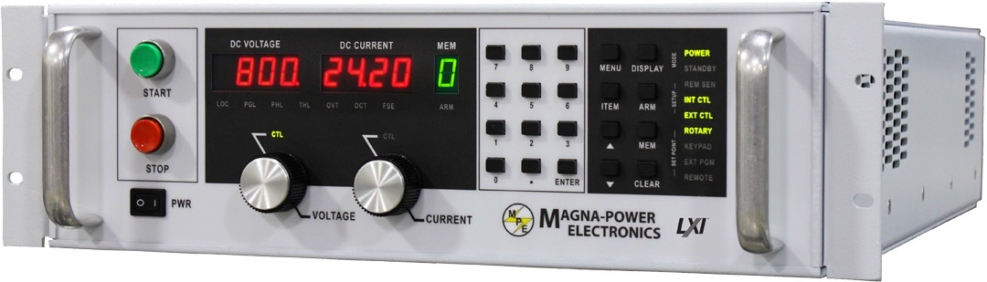 Magna-Power TS series DC power supplies 5.0 kW - 45.0 kW