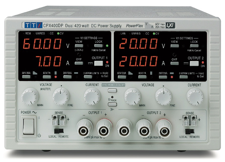 TTi CPX series DC power supplies