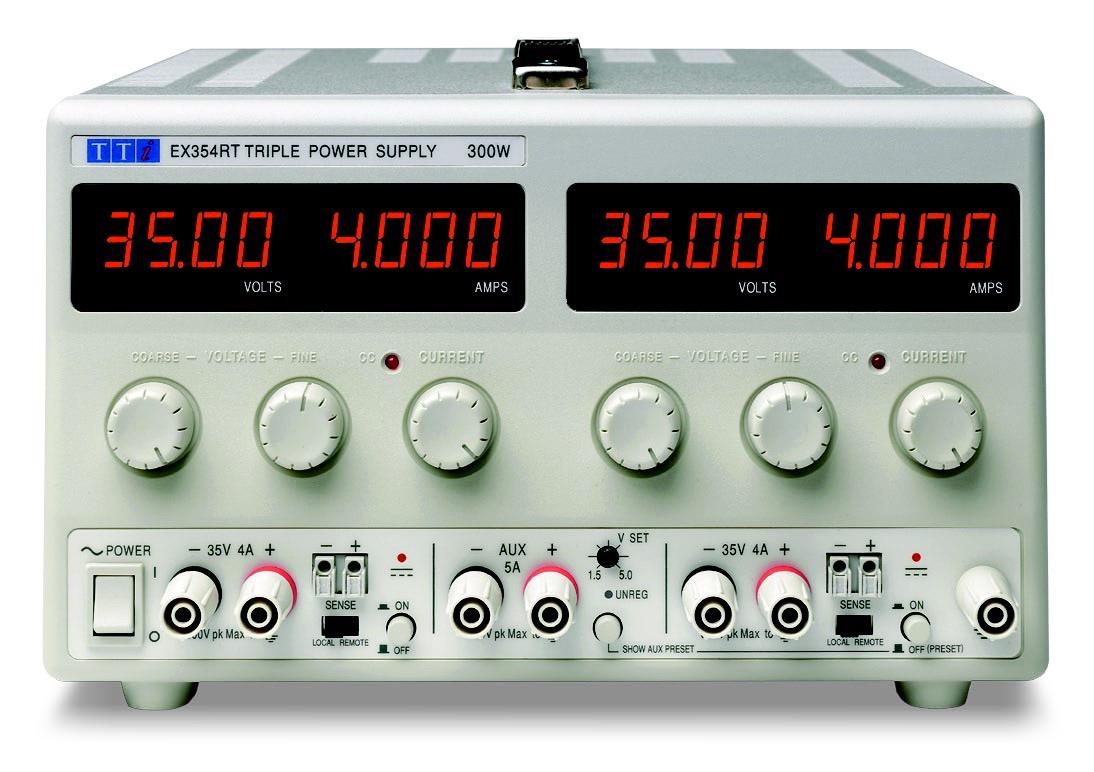 TTi EX-R series DC power supplies