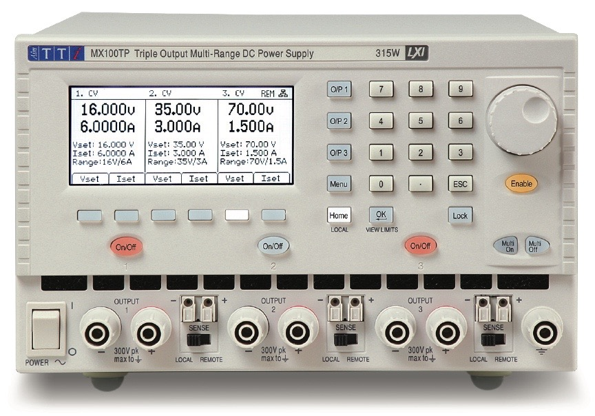 TTi MX series DC power supplies