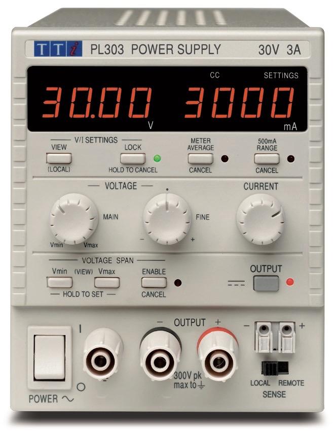 TTi PL series DC power supplies