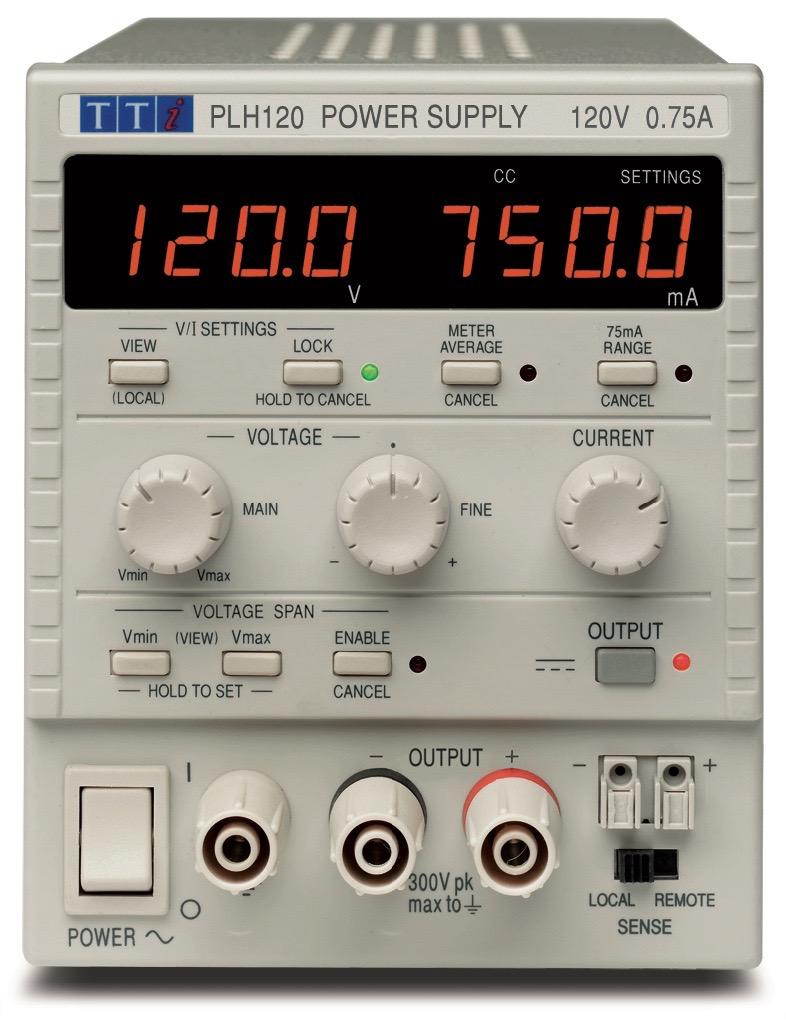 TTi PLH series DC power supplies