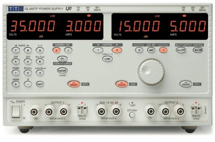 TTi QL series DC power supplies