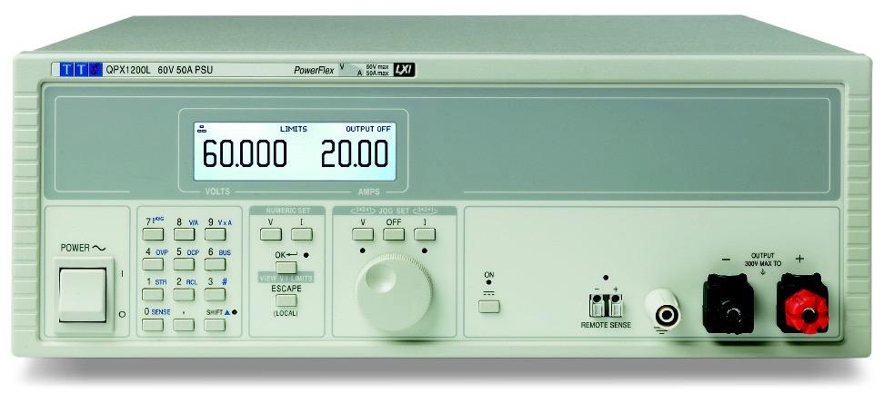 TTi QPX series DC power supplies