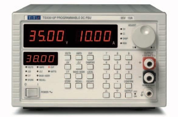 TTi TSX series DC power supplies