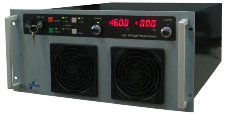 Technix CCR series capacitor chargers 2,5 kJ/s tot 5 kJ/s