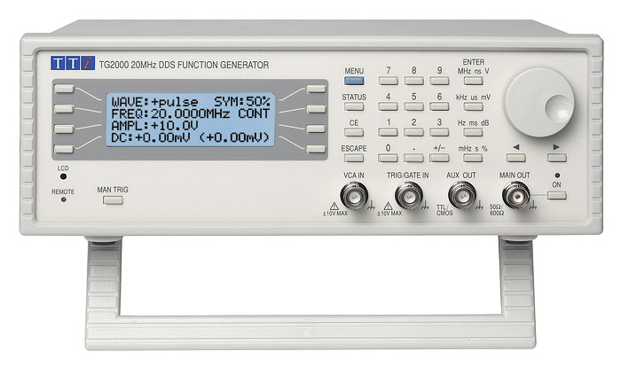 Aim-TTi TG2000 series function generators