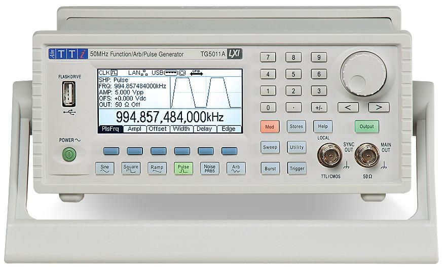 Aim-TTi TG251xA / TG501xA series function generators