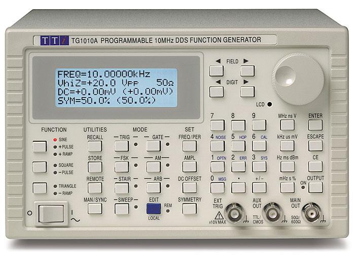 Aim-TTi TG1010A series function generator