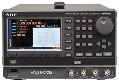 NF WF1967/WF1968 function generators