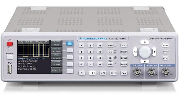 R&S HMF2525 / HMF2550 function generators