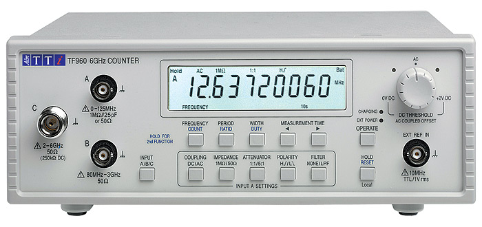 TF960 Universal Counter from AimTTi