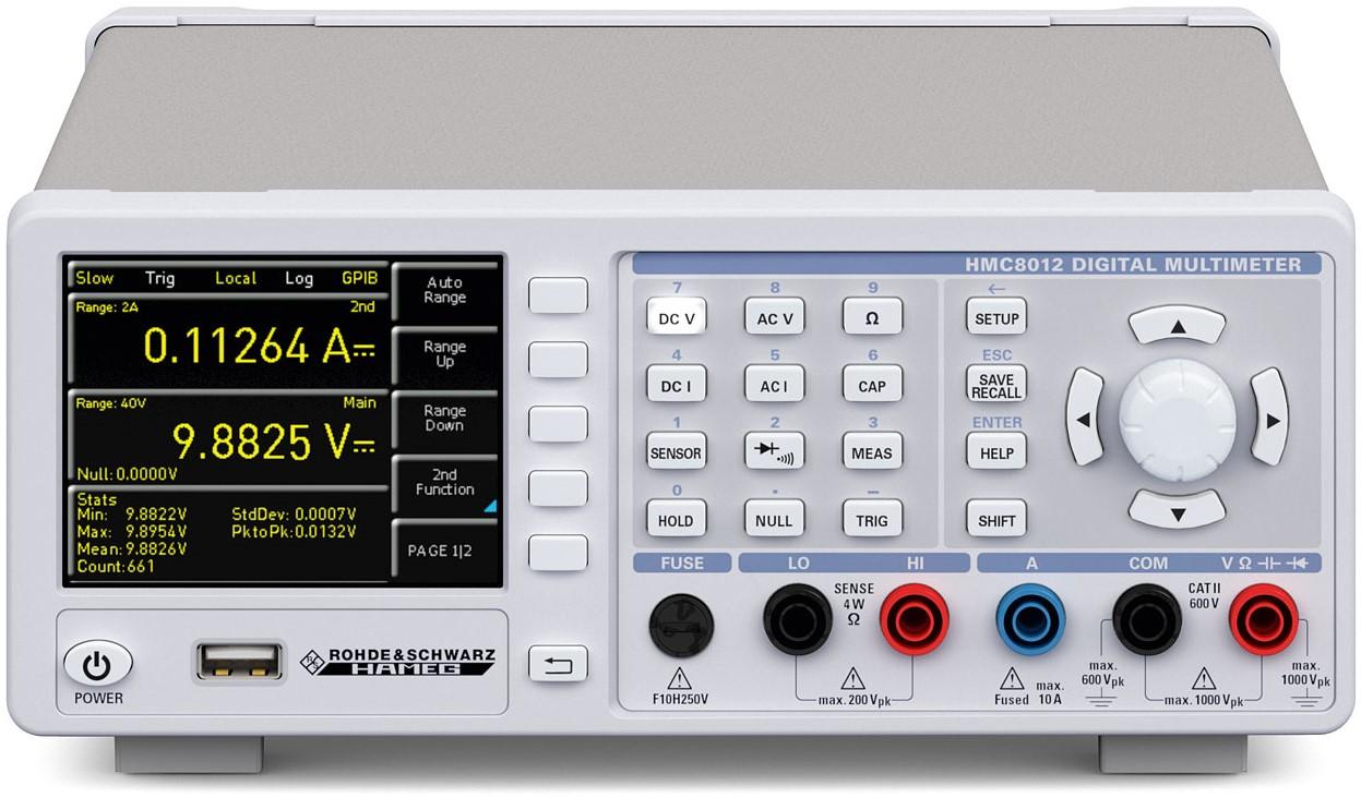 R&S HMC8012 Digital Multimeter