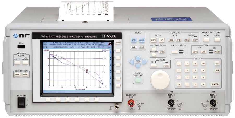 NF FRA50x7 series Frequency Response Analyzers