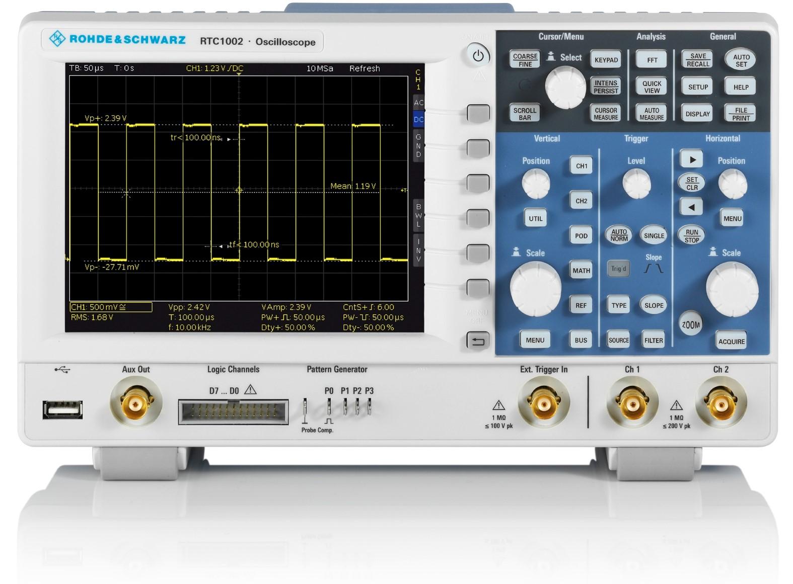 R&S RTC1000 series digital Oscilloscope