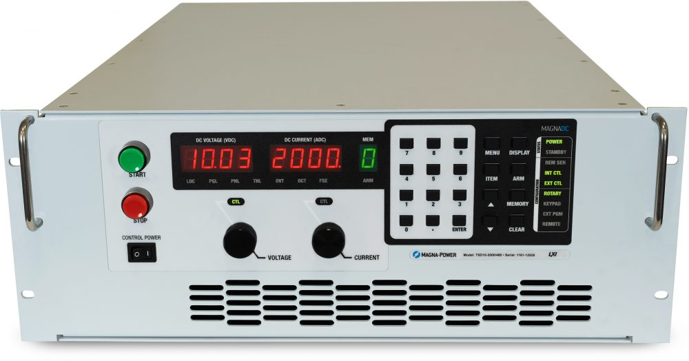 Magna-Power TS series DC power supplies 5.0 kW - 50.0 kW