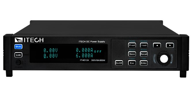 IT-M3100 Ultra Compact Wide range DC power supplies from Itech