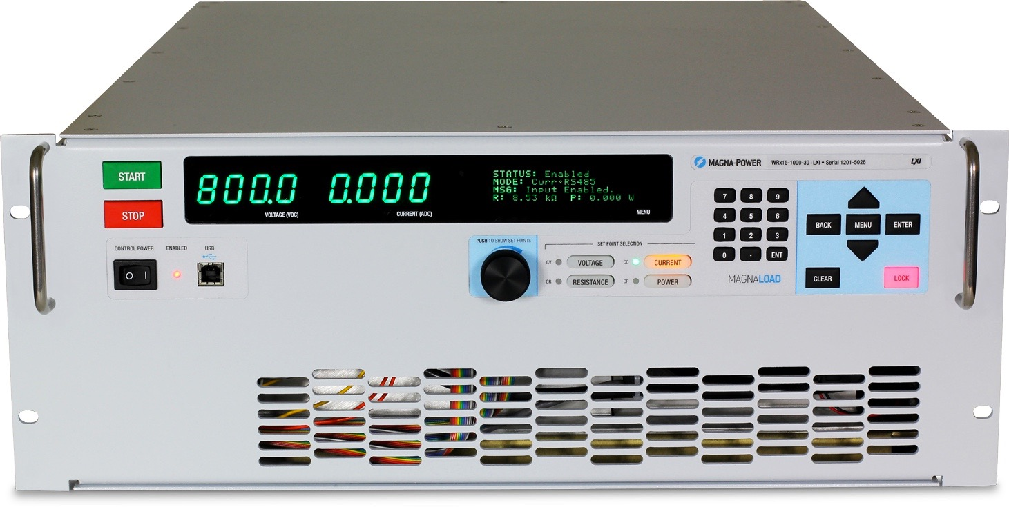 MagnaLOAD WRx series DC loads15 kW - 120 kW+