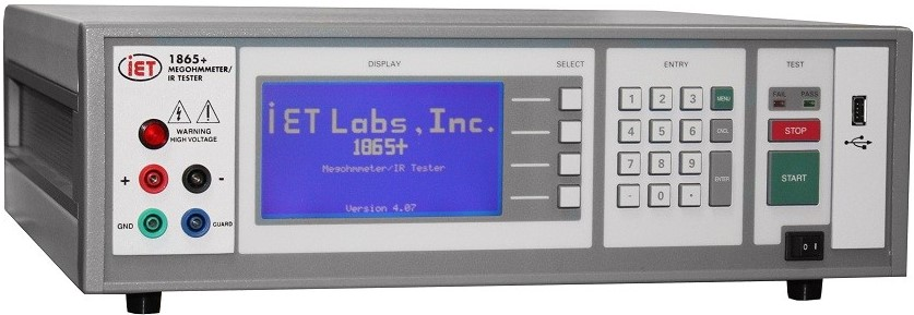1865+ MegOhmmeter/IR IET Tester