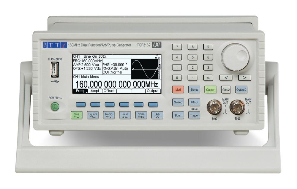 TGF3000 arbitrary function generators from Aim-TTi