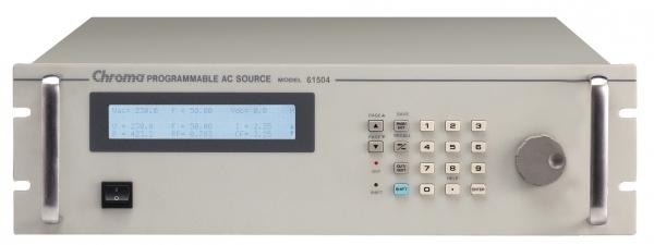 Chroma 61500 series single-phase AC power supplies