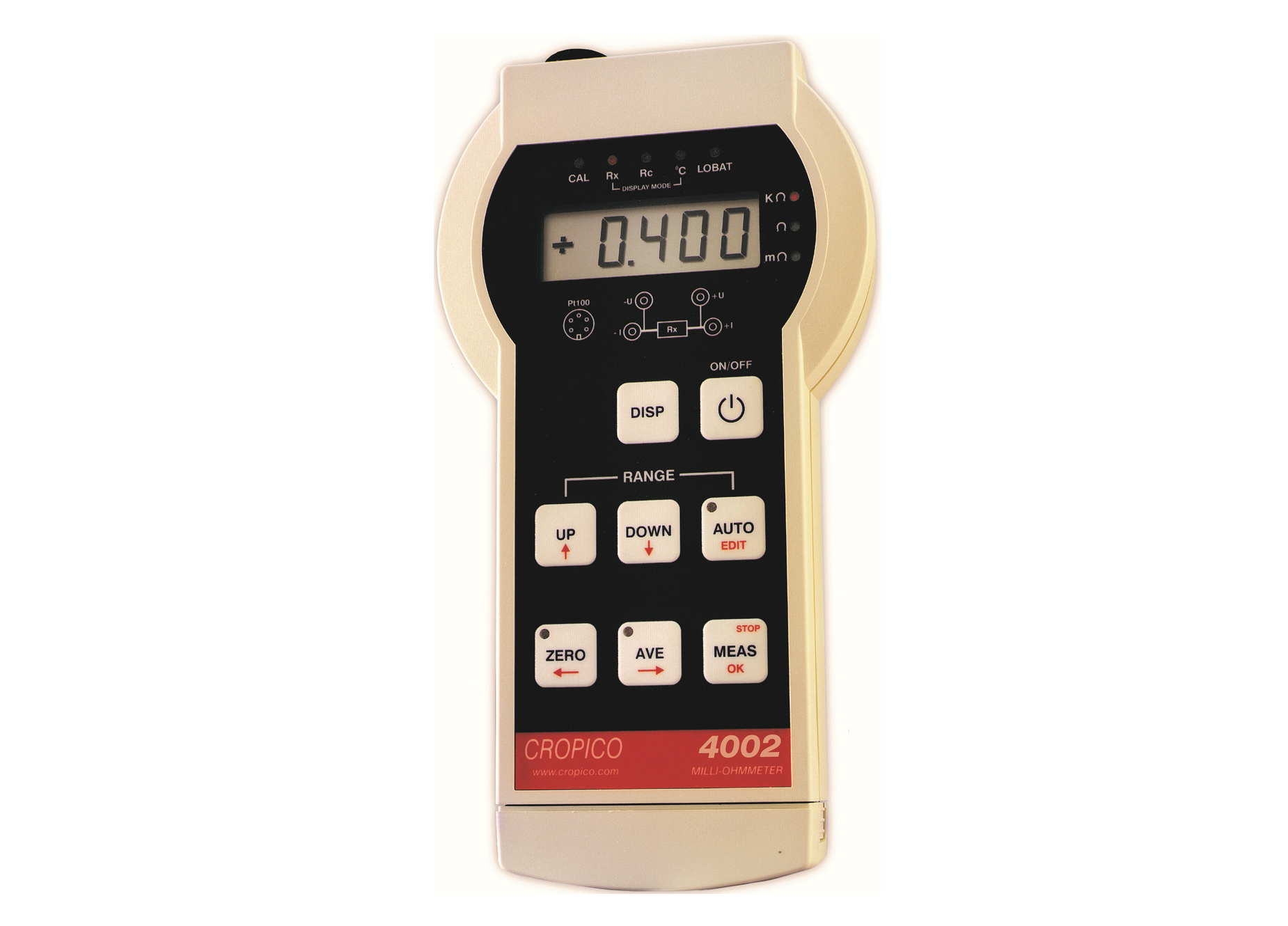 Cropico DO4000 series MicroOhm meter