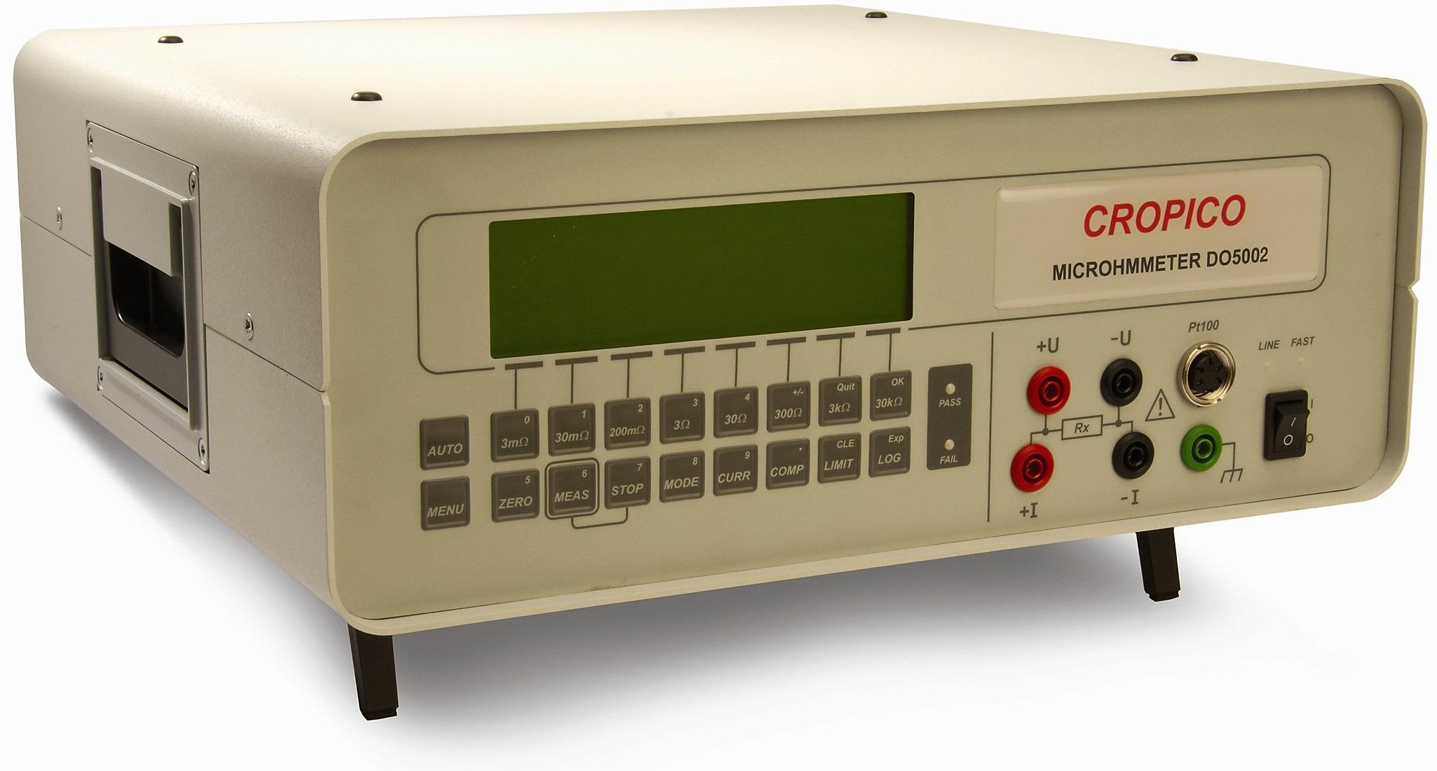 Cropico DO5000 series Digital MicroOhmmeters