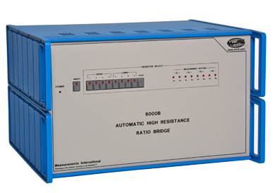 MI 6000B Automatic High Resistance Ratio Bridge