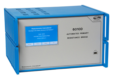 MI model 6010D primary resistance/thermometry bridge