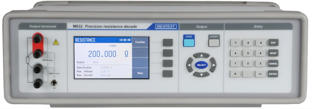Meatest M632 Programmable Resistance Decade