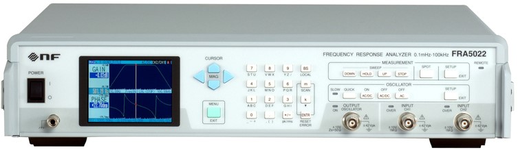 FRA5022 Frequency Response Analyzers of NF