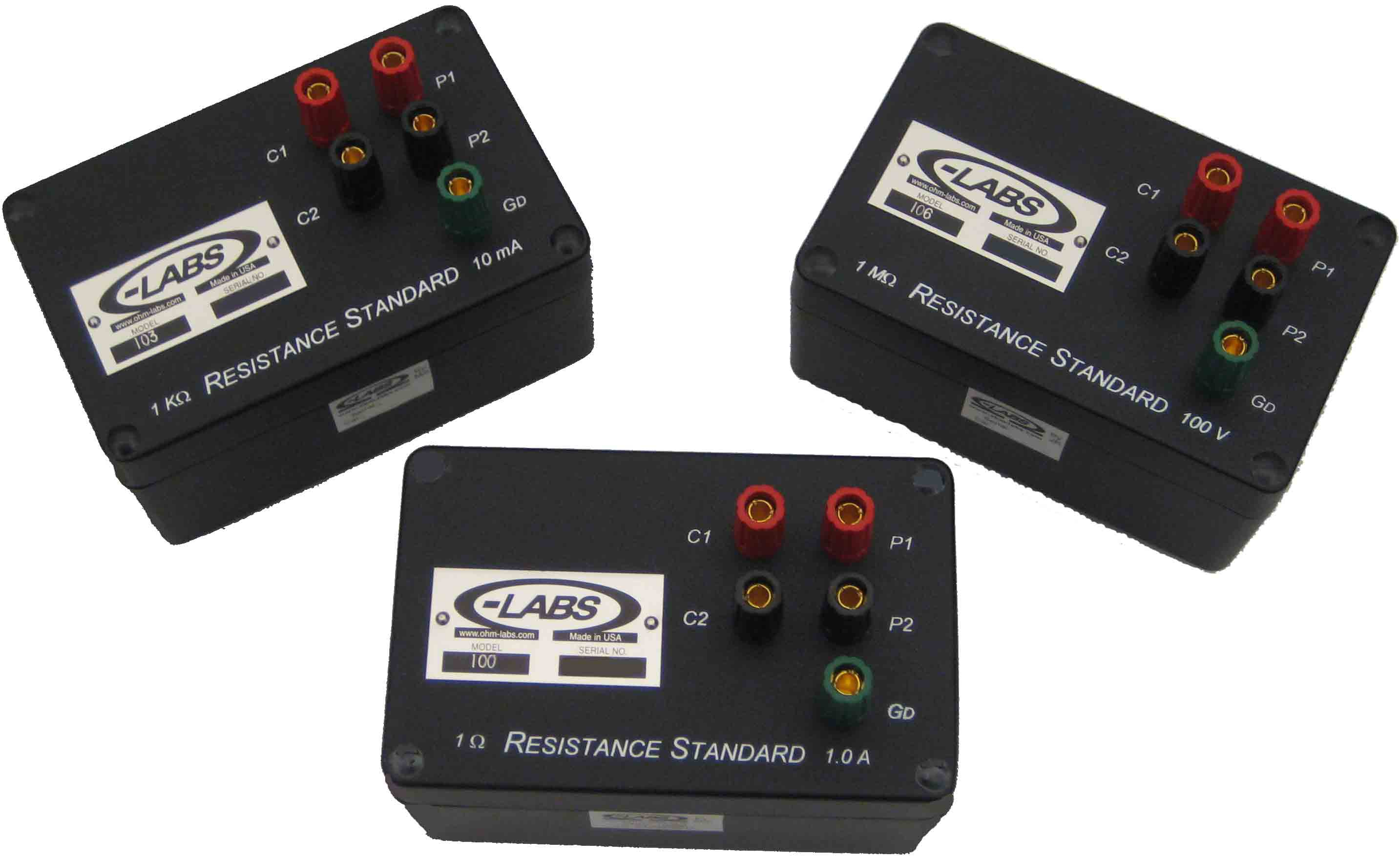 Ohm-Labs 100 Series Resistance Standards