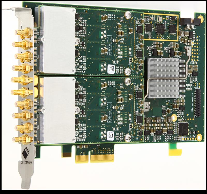 Spectrum M2p.59xx-x4 series digitizer cards