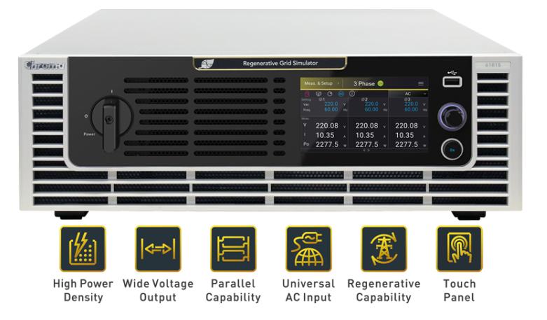 Chroma 61800 Regenerative Grid Emulators new models